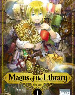 <i>Magus of the library, T.1</i> <h6>Mitsu Izumi</h6>