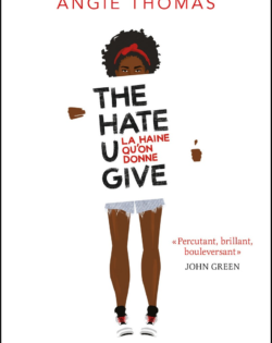 <i>The Hate U give</i> <h6>Angie Thomas