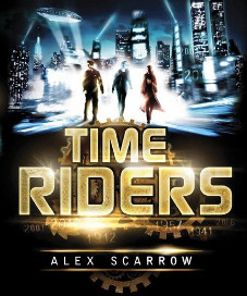 <i>Time Riders</i> <h6>Alex Scarrow